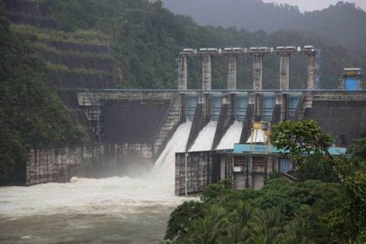 Debit Air dari Hulu Waduk PLTA Kotopanjang Kampar Turun, Hujan Masih Membayangi