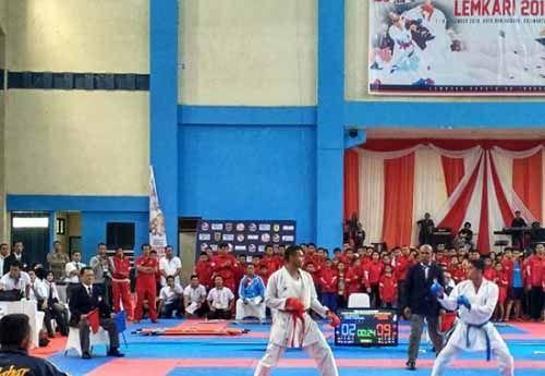 Lemkari Inhil Gelar Kejuaraan Karate se-Sumatera Agustus 2017
