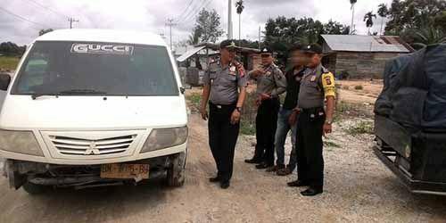 Tahanan Kabur dari Rutan Sialangbungkuk Pekanbaru Ditangkap Saat Naik Angkutan Umum di Pelalawan