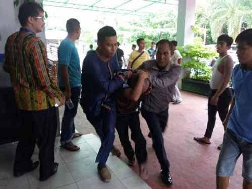 Dua Napi Sialangbungkuk Pekanbaru yang Kabur Berhasil Ditangkap, Sempat Pura-Pura Bantu Cari Tahanan Lain dan Mengaku Jualan Lontong