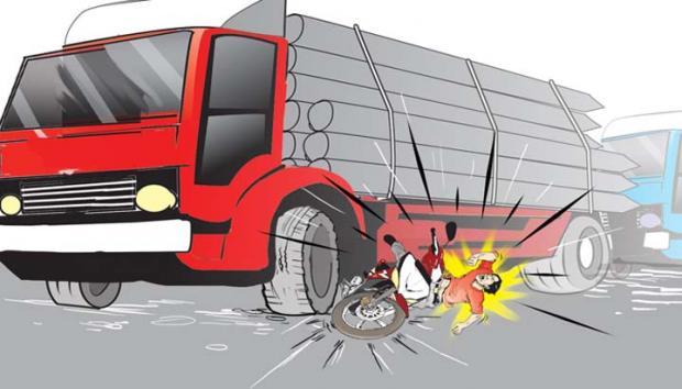 Tragis, Pekerja Tewas setelah Terseret di Kolong Truk Pengangkut Pupuk PT S3 Dumai