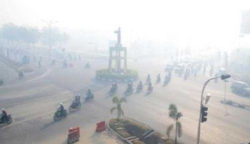 Gawat, Sehari Kemarin Korban Asap Riau Bertambah 1000 Orang