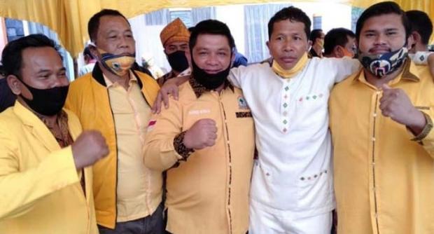 Wah, Putra beserta Keluarga Kasmarni yang Kader Golkar Nyatakan Siap Menangkan Indra Gunawan-Samsu Dalimunthe