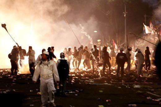 Anggota FPI Dumai yang Sempat Terpisah Usai Demo di Depan Istana Negara Akhirnya Berkumpul Semua dan Sekarang Berada di Mess Pemprov Riau
