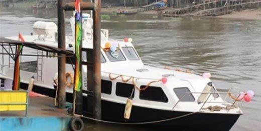 Terkendala Biaya Operasional Rp2 Juta Sekali Jalan, Bus Air di Sungai Siak Pekanbaru Setop Beroperasi