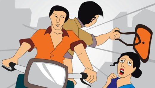 Kesal Tasnya Dirampas, Ibu Hamil di Pekanbaru Tabrakkan Motornya ke Motor Penjambret