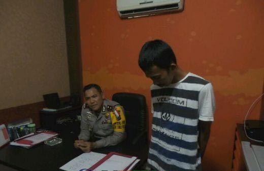 Kabur dari Tahanan Polsek Bukitraya 5 Bulan Lalu, Pelaku Jambret Ditangkap Kembali oleh Polisi Sektor Limapuluh Pekanbaru