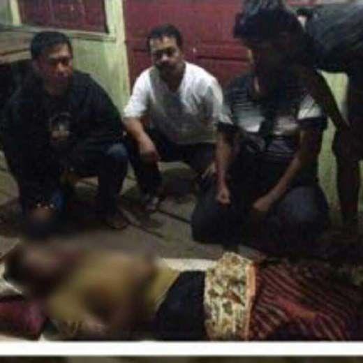 """Pria 20 Tahun di Mandah Inhil """"Raib"""" saat Mengangkat Buah Kelapa Muatan Kapal Motor yang Tenggelam di Depan Pelabuhan Pasar Sendawa"""