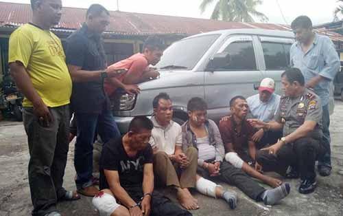 Bandit Lintas Sumatera Dilumpuhkan, Ngaku Baru Sekali dan Sudah Sumpah-sumpah, Padahal Residivis Kasus Perampokan di Riau