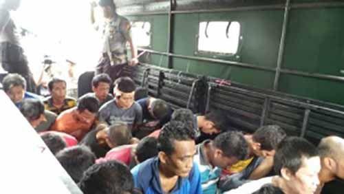 Warga Riau Waspadalah, Masih Ada 235 Tahanan Kabur dari Rutan Sialangbungkuk Pekanbaru yang Belum Tertangkap