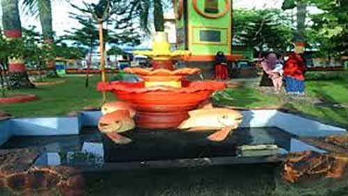 <i>Ngabuburit</i> di Taman Kota Bagansiapiapi Bisa Jadi Referensi Menunggu Waktu Buka Puasa