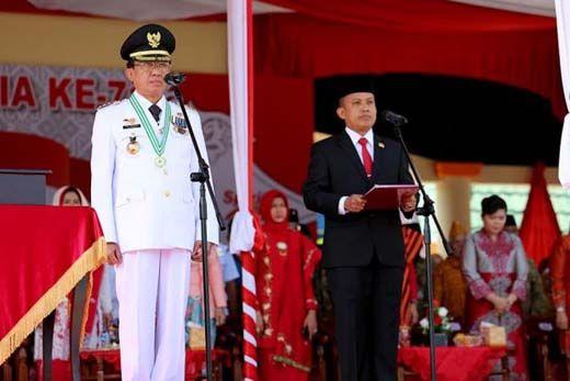 Ketua DPRD Dani M Nursalam Nyatakan Siap Dampingi Wardan di Pilkada Inhil 2018