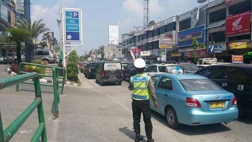 Akhir Pekan, Waspadai 8 Titik Rawan Macet di Pekanbaru