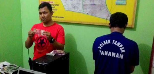 Beli Petai Pakai Uang Palsu, Mantan Sopir Anggota DPRD Ditangkap Polisi di Panam