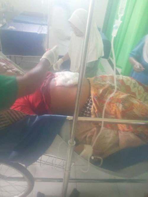 Menolak Diajak ke Batam, Seorang Istri di Tembilahan Hulu Inhil Terkapar Ditusuk Suaminya