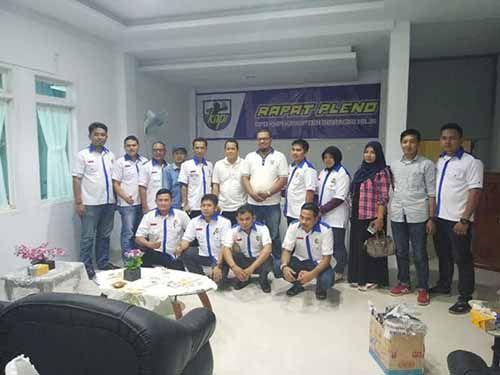 Lewat Rapat Pleno, Roby Cahyadi Disahkan sebagai Plt Ketua KNPI Inhil