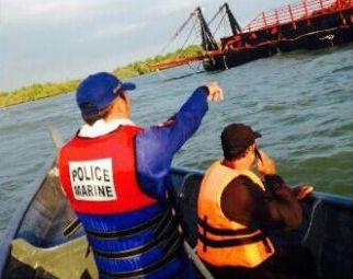 Agar Penyebab Tabrakan Tak Simpang Siur, KSOP Dumai Panggil Nakhoda Kapal Penarik Tongkang dan Tanker
