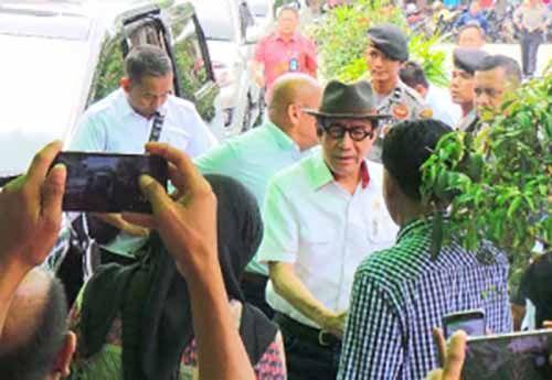 Menteri Hukum dan HAM Kaget Dengar Keluhan Tahanan Rutan Sialangbungkuk yang Mengaku Sengaja Dibiarkan di Ruang Sempit untuk Diperas