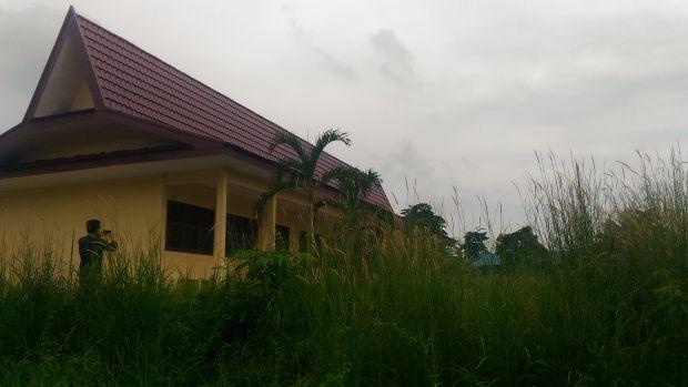 Belum Difungsikan, Gedung Sekolah Dasar di Kecamatan Lubukdalam Ini bak Rumah Hantu