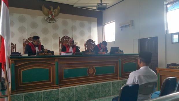 Terbukti Janjikan Sejumlah Barang ke Pemilih, Caleg PKB di Meranti Dihukum Pidana Tiga Bulan