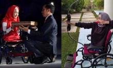presiden-jokowi-turun-podium-pembukaan-asian-para-games-untuk-hampiri-bulan-penyandang-disabilitas