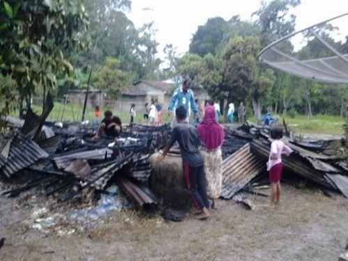 Tak Seorang Warga pun Memiliki Nomor Telepon, Mobil Pemadam Datang setelah Rumah Muis di Bengkalis Ludes Terbakar