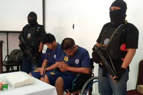 BNNP Jatim Tangkap Dua Pengedar dan Sita Sabu 3,5 Kg, Seorang Warga Riau