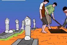tukang-gali-kubur-di-dumai-pukul-pengurus-taman-pemakaman-dengan-cangkul-karena-minta-naik-gaji