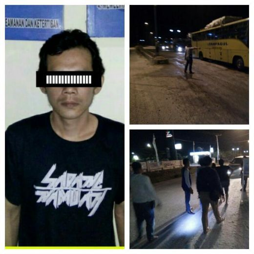 Naik Bus Sampagul Tujuan Sumut, Seorang Napi yang Kabur dari Rutan Sialangbungkuk Pekanbaru Ditangkap di Rohul