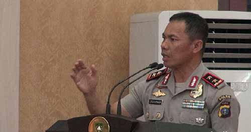 Kapolda Riau: Para Tahanan yang Kabur Menyerahlah, jika Tidak Kami Sikat!