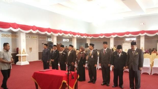 Ini Pejabat Eselon II Pemprov Riau DKI yang Dilantik Gubernur Andi Rachman