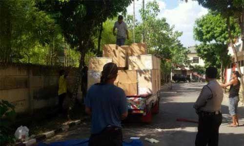 Bajing Loncat Gasak Alat Tower Provider yang Hendak Dibawa ke Pekanbaru