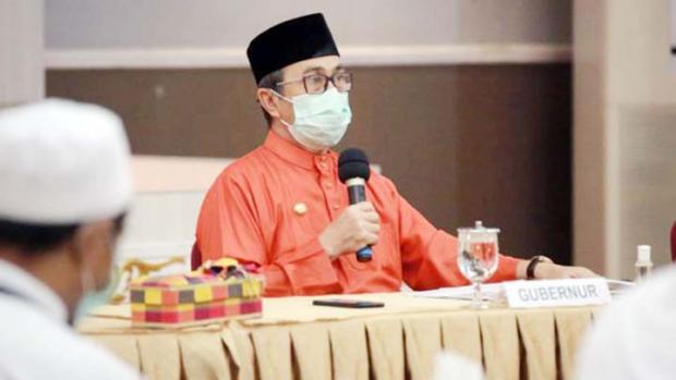 Gubernur Riau Terima Surat Cuti 4 Bupati dan Seorang Wabup Maju Pilkada