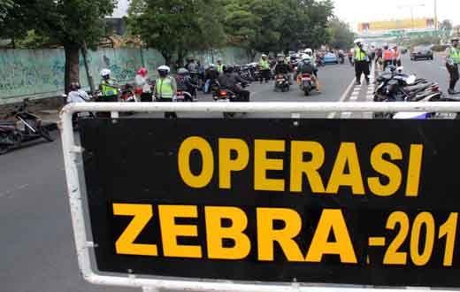 Mulai 16 November 2016 Ada Operasi Zebra Siak di Riau, Lengkapi Surat Kendaraan Anda!