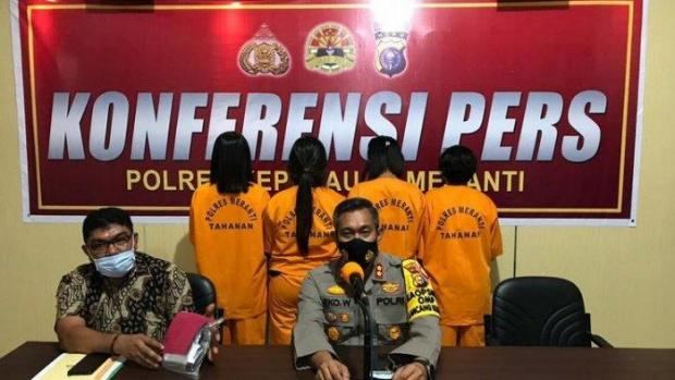 Dua dari Empat Istrinya Disuruh Edarkan Narkoba, Pria di Kepulauan Meranti Kabur ke Arah Hutan saat Akan Ditangkap