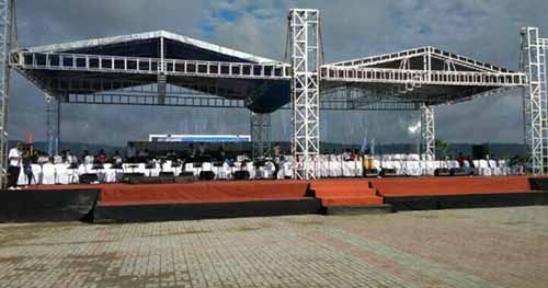 Begini Suasana Jelang Puncak Acara Perayaan Hari Pers Nasional 2017 di Ambon
