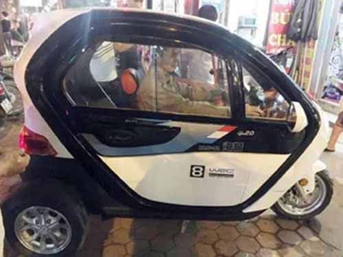 Motor Roda Tiga Mewah yang Distributornya di Pekanbaru Ini Harganya Rp11 Jutaan, Bahan Bakar Bensin