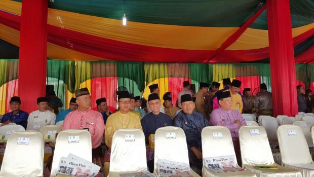 Ini Harapan Wabup Siak, Usai Menghadiri Upacara Peringatan Hari Jadi ke-60 Provinsi Riau di Pekanbaru