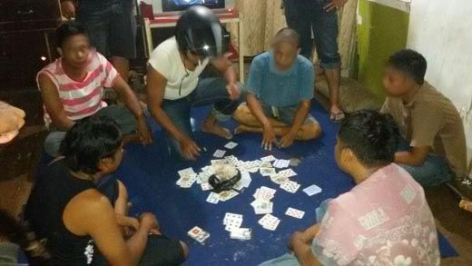 Tersangka Kasus Judi yang Ditangkap di Perumahan PT PMBN Pelalawan Berjumlah 11 Orang, Satu di Antaranya Asisten Manajer