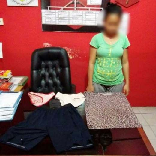 Ibu Muda yang Buang Bayinya hingga Diseret dan Dijilati Anjing di Pinggir Jalan Kecamatan Minas Akhirnya Ditangkap Polisi Siak di Perawang