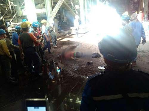 Pekerja PT Mekar Indah Abadi Tewas Terjatuh dari Ketinggian 14 Meter di Areal PT Indah Kiat Perawang