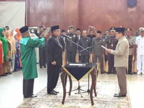 Tak <i>Nongol</i> di Pelantikan Muhammad Nasir sebagai Sekda Kota Dumai, ke Manakah Said Mustafa?