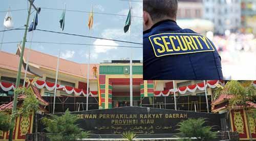 """Daripada Dikawal Satpam, Anggota DPRD Riau Ini Lebih Senang Didampingi Staf Ahli, """"Untuk Apa Dikawal-kawal..."""""""