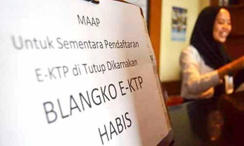 Waduh! Blangko Kosong, Dinas Kependudukan dan Catatan Sipil Kabupaten Bengkalis Terbitkan 7.749 KTP Sementara