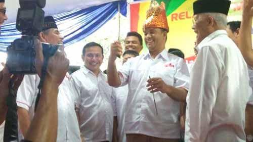 Elemen dari Riau Ada yang Datang secara Khusus ke Jakarta Sampaikan Dukungan Anies-Sandi