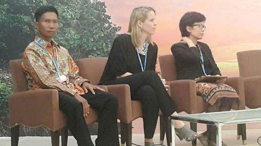 Ketika Petani Kabupaten Siak Jadi Pembicara KTT PBB Perubahan Iklim di Maroko Sepanggung dengan Orang-orang Top dari Berbagai Negara