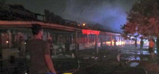 Asap Membubung di Kawasan Asrama TNI AD di Pekanbaru (Asrama Pancasila), Warga Sebut Penyebab Kebakaran akibat Arus Pendek Listrik