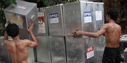 Logistik Pilkada Kampar Mulai Disalurkan ke 11 Kecamatan