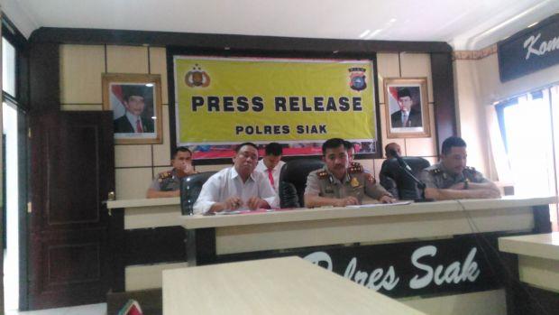 Kapolres Siak: Personel yang Terlibat Narkoba Akan Ditindak Tegas