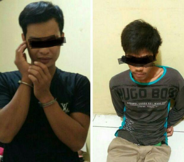 Curi Sepeda Motor, Dua Pemuda Asal Kecamatan Siak Diringkus Polisi